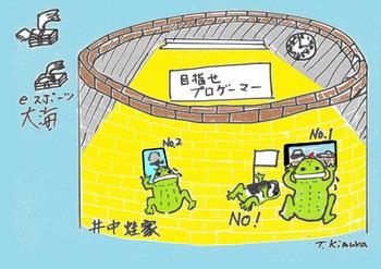 井の中の蛙の画像